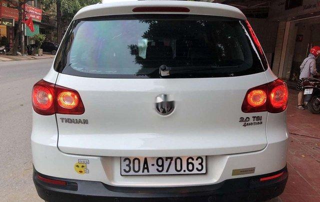 Bán Volkswagen Tiguan đời 2010, màu trắng5