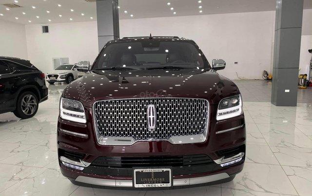 Bán xe Lincoln Navigator L Black Label, màu cherry, sản xuất 2020, nhập nguyên chiếc từ Mỹ, xe giao ngay, giá tốt0
