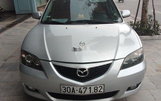 Bán xe Mazda 3 2004, màu bạc, 215tr0