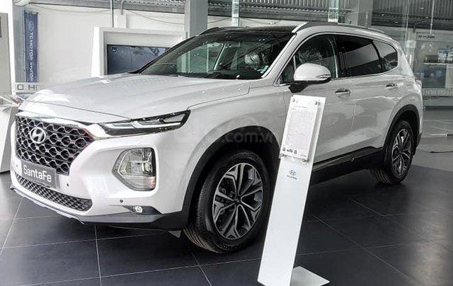 Cần bán xe Hyundai Santa Fe dầu cao cấp 2020, giảm 50% thuế trước bạ, tặng 15 triệu tiền mặt + phụ kiện chính hãng2