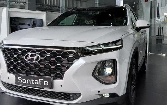 Cần bán xe Hyundai Santa Fe dầu cao cấp 2020, giảm 50% thuế trước bạ, tặng 15 triệu tiền mặt + phụ kiện chính hãng0