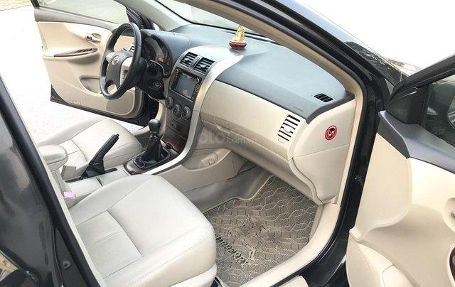 Toyota Corolla Altis 1.8G cuối 2011, số tay, màu đen 1 chủ mua đi từ mới - lốp 2011 nguyên, sơ cua chưa hạ, mới quá đi5