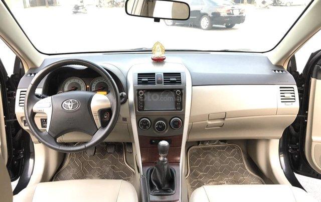 Toyota Corolla Altis 1.8G cuối 2011, số tay, màu đen 1 chủ mua đi từ mới - lốp 2011 nguyên, sơ cua chưa hạ, mới quá đi4