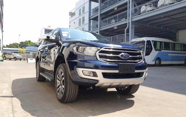 Ford Everest Titanium 2020 giảm tiền mặt, tặng phụ kiện, xe có giao ngay, hỗ trợ trả góp toàn quốc, chỉ còn 2 xe giá tốt2