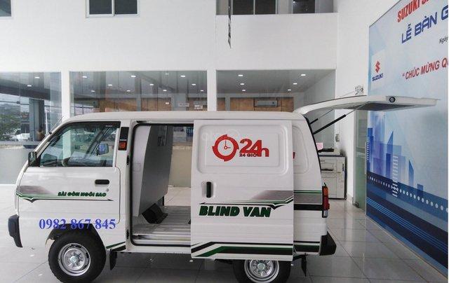 Cần bán xe Suzuki Blind Van sản xuất năm 2020, màu trắng khuyến mãi0