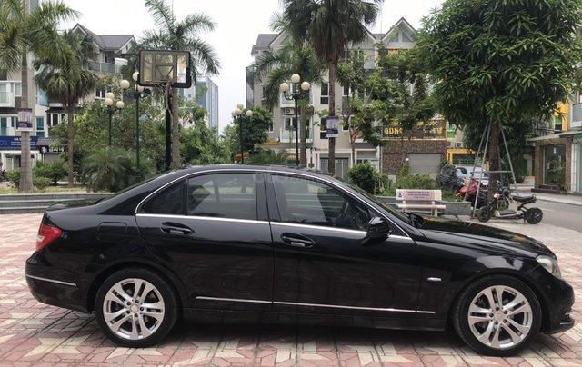 Bán Mercedes C200 đời 2011, màu đen2