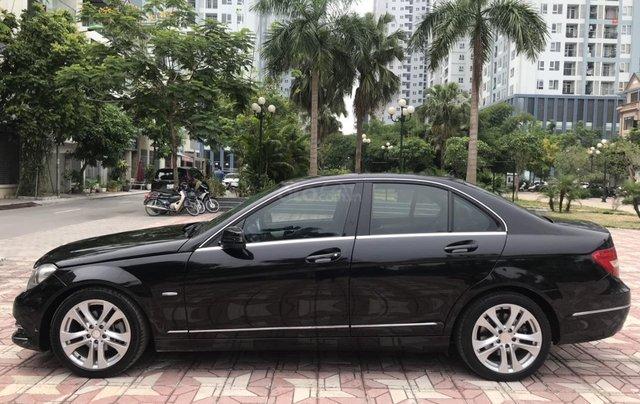 Bán Mercedes C200 đời 2011, màu đen6
