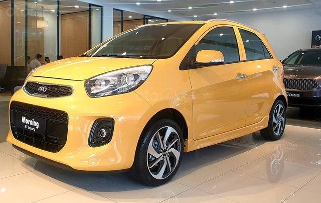 Kia Morning Luxury 2020 màu mới vàng Honey Bee cực hot - giá cực tốt0