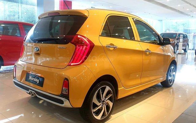Kia Morning Luxury 2020 màu mới vàng Honey Bee cực hot - giá cực tốt1