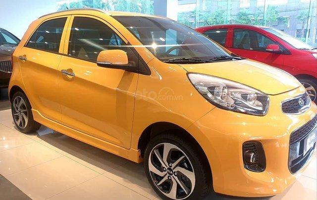 Kia Morning Luxury 2020 màu mới vàng Honey Bee cực hot - giá cực tốt4