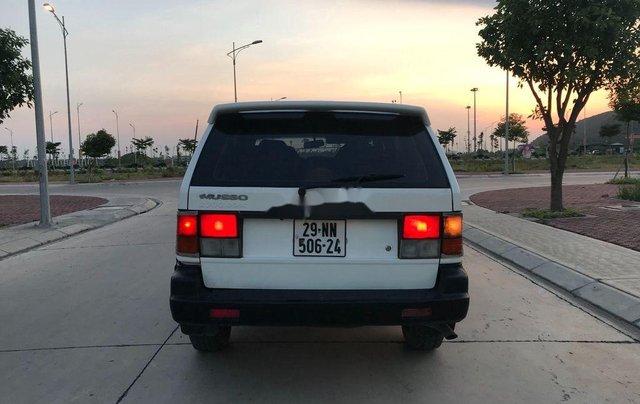 Cần bán gấp Ssangyong Musso năm sản xuất 1998, nhập khẩu  7