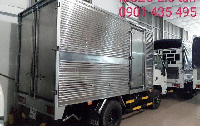 Bán Isuzu 2.5 tấn thùng kín 3.6m, KM máy lạnh, 12 phiếu bảo dưỡng, Radio MP35
