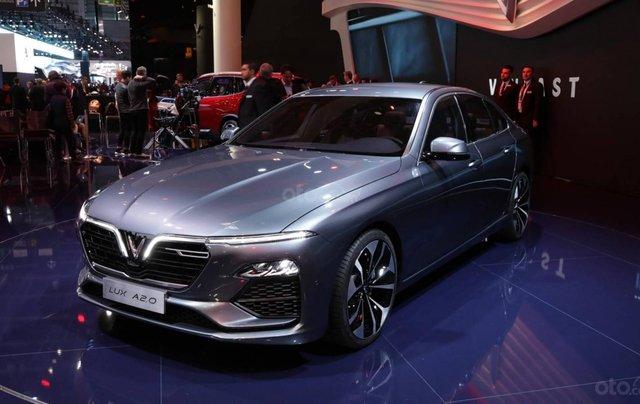 Doanh số bán hàng xe VinFast LUX A2.0 tháng 7/20210