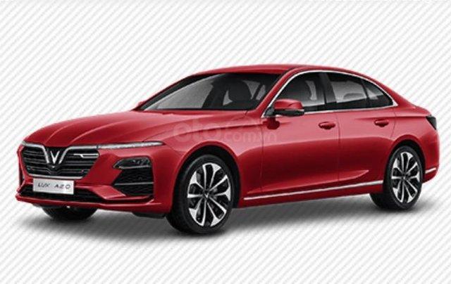 Doanh số bán hàng xe VinFast LUX A2.0 tháng 7/202121