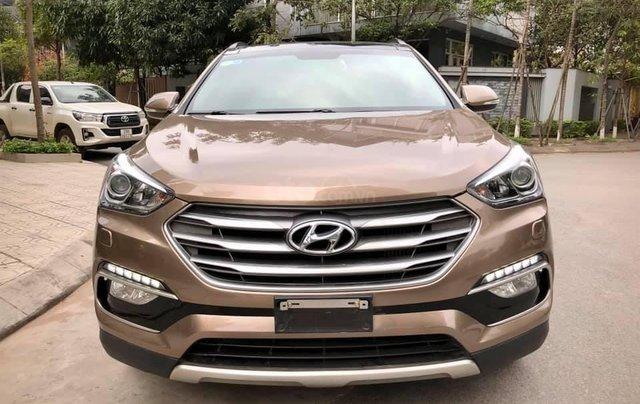 Bán Hyundai Santa Fe 2.2 CRDI đời 2016, giá chỉ 935 triệu0