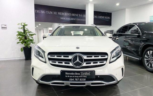 Mercedes GLA200 2020 nhập khẩu màu trắng siêu lướt chính chủ biển đẹp giá cực tốt2