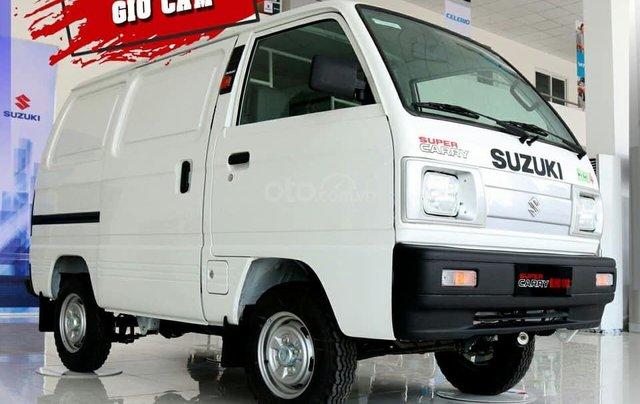 Suzuki Van chạy giờ cao điểm - giảm 50% thuế trước bạ0