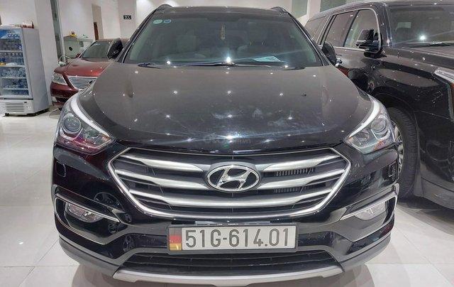 Bán Hyundai Santa Fe 2.2 AT 2018, máy dầu diesel, biển SG, xe gia đình sử dụng, odo 30.000km, thương lượng khách thiện chí0