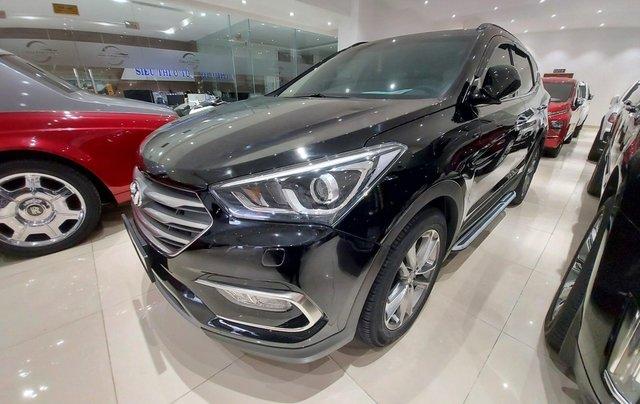 Bán Hyundai Santa Fe 2.2 AT 2018, máy dầu diesel, biển SG, xe gia đình sử dụng, odo 30.000km, thương lượng khách thiện chí2