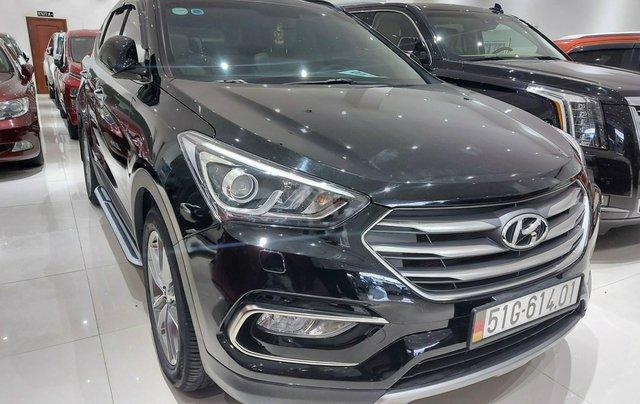 Bán Hyundai Santa Fe 2.2 AT 2018, máy dầu diesel, biển SG, xe gia đình sử dụng, odo 30.000km, thương lượng khách thiện chí5