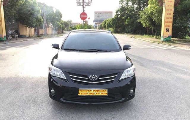 Toyota Corolla Altis 1.8G AT cuối 2011, số tự động, màu đen 1 chủ từ mới - nguyên zin cả xe, mới quá đi0