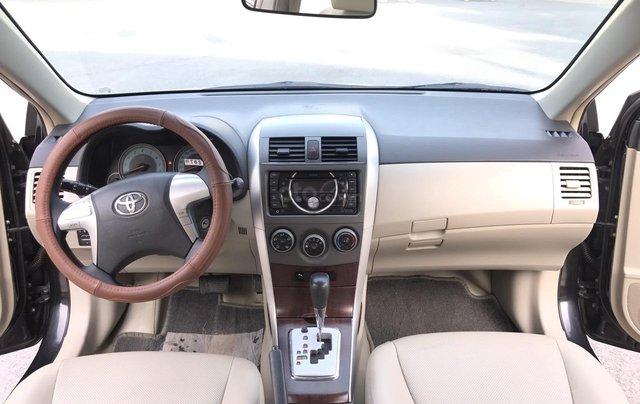 Toyota Corolla Altis 1.8G AT cuối 2011, số tự động, màu đen 1 chủ từ mới - nguyên zin cả xe, mới quá đi4