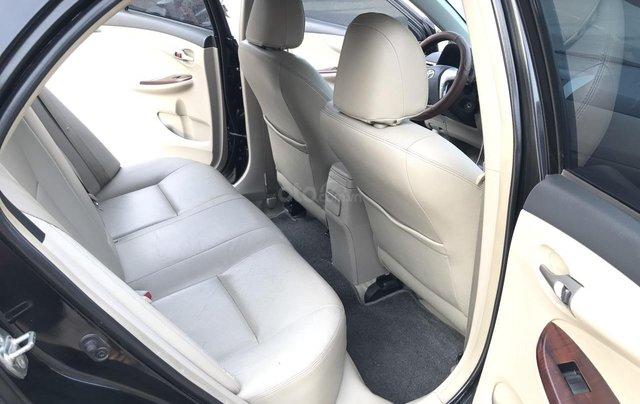 Toyota Corolla Altis 1.8G AT cuối 2011, số tự động, màu đen 1 chủ từ mới - nguyên zin cả xe, mới quá đi6