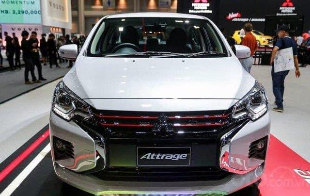 Bán Mitsubishi Attrage đời 2020, màu trắng0