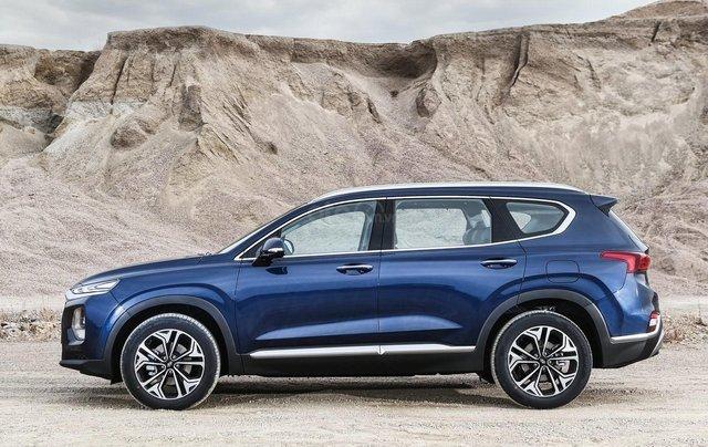 Hyundai Santa Fe 2.2 dầu cao cấp 2020, ưu đãi lớn, giao xe ngay1