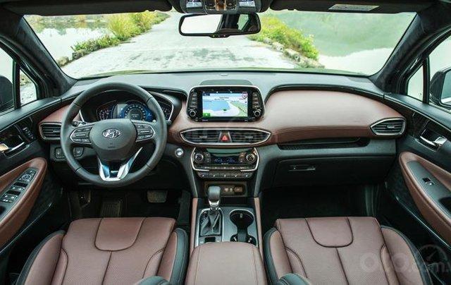 Hyundai Santa Fe 2.2 dầu cao cấp 2020, ưu đãi lớn, giao xe ngay3