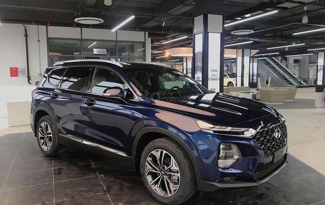 Hyundai Santa Fe 2.2 dầu cao cấp 2020, ưu đãi lớn, giao xe ngay5