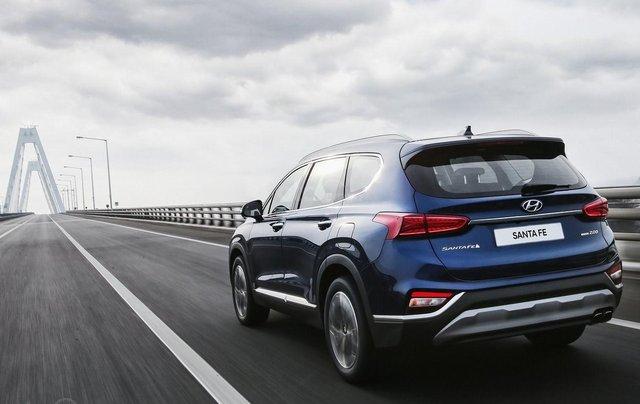 Hyundai Santa Fe 2.2 dầu cao cấp 2020, ưu đãi lớn, giao xe ngay4