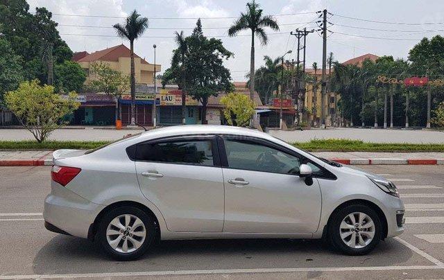 Bán Kia Rio 1.4 MT năm sản xuất 2016, màu bạc, nhập khẩu nguyên chiếc  0