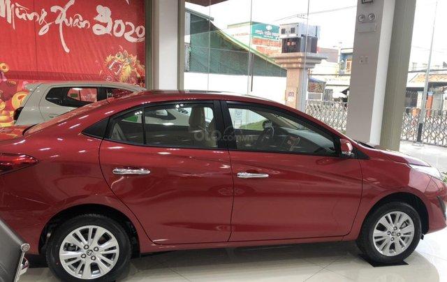 Bán xe Toyota Vios đời 2020 màu đỏ giao ngay - mua trả góp chỉ với 150 triệu2
