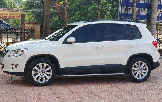 Xe Volkswagen Tiguan đời 2010, màu trắng, nhập khẩu còn mới1