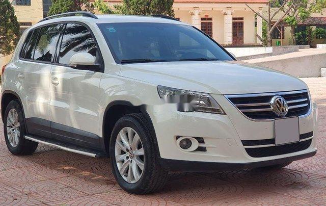 Xe Volkswagen Tiguan đời 2010, màu trắng, nhập khẩu còn mới0