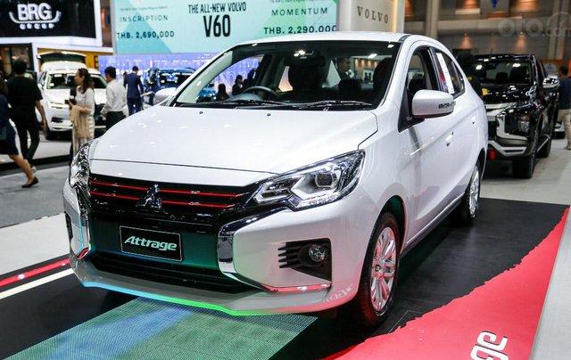 [Hot] Mitsubishi Attrage 2020 giá tốt nhận xe ngay, khuyến mãi tốt nhất Sài Gòn0