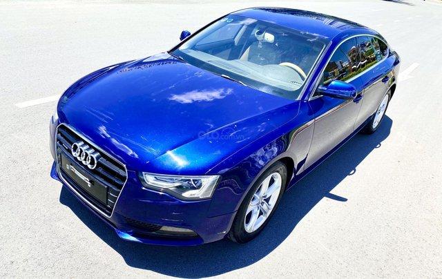 Audi A5 nhập Đức 2015 màu xanh zin, full và độ vào rất nhiều đồ chơi cao cấp, số tự động 6 cấp, nội thất kem1