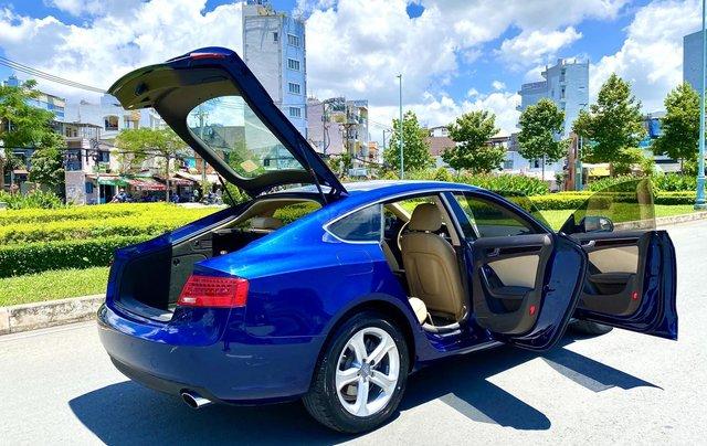 Audi A5 nhập Đức 2015 màu xanh zin, full và độ vào rất nhiều đồ chơi cao cấp, số tự động 6 cấp, nội thất kem3