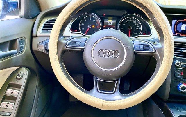 Audi A5 nhập Đức 2015 màu xanh zin, full và độ vào rất nhiều đồ chơi cao cấp, số tự động 6 cấp, nội thất kem5