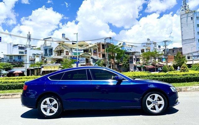 Audi A5 nhập Đức 2015 màu xanh zin, full và độ vào rất nhiều đồ chơi cao cấp, số tự động 6 cấp, nội thất kem2