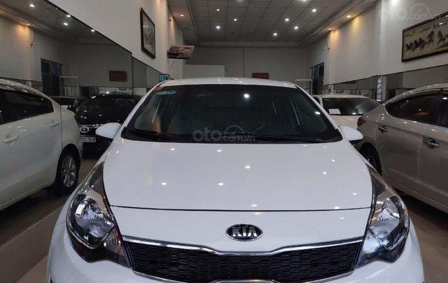 Bán xe Kia Rio 1.4 MT sản xuất 2016, màu trắng, nhập khẩu  4