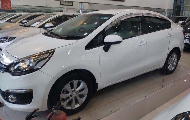Bán xe Kia Rio 1.4 MT sản xuất 2016, màu trắng, nhập khẩu  0