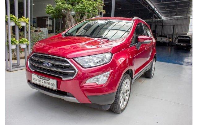 Bán xe Ford Ecosport 1.5 Titanium 2018, màu đỏ, trả trước chỉ 168 triệu1