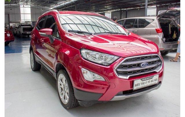 Bán xe Ford Ecosport 1.5 Titanium 2018, màu đỏ, trả trước chỉ 168 triệu2