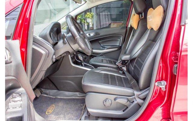 Bán xe Ford Ecosport 1.5 Titanium 2018, màu đỏ, trả trước chỉ 168 triệu9