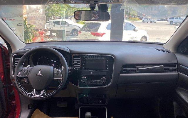 1 chiếc duy nhất Mitsubishi Outlander 2.4 CVT bản cao cấp 2 cầu 2019 màu đỏ, mới 100%, giá cực kỳ ưu đãi5