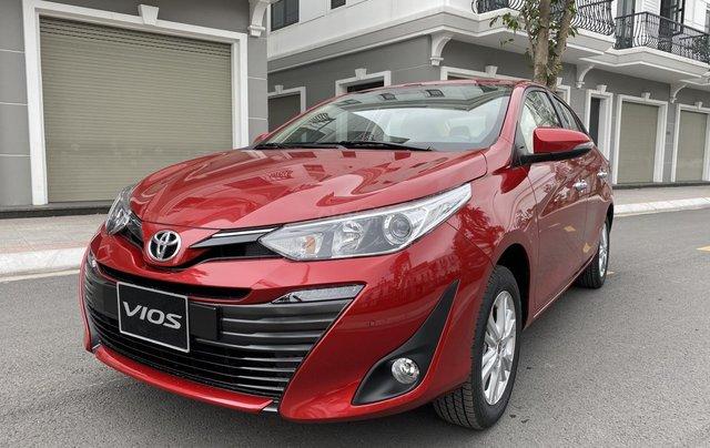 Bán xe Vios 2020 tại Toyota Quảng Ninh giá tốt, thuế giảm 50% cơ hội vàng mua xe0