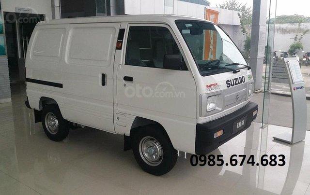 Bán xe tải Van xe tải cóc Suzuki Blind Van 2020 không cấm phố0