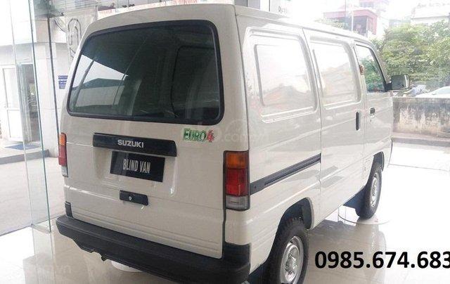 Bán xe tải Van xe tải cóc Suzuki Blind Van 2020 không cấm phố4